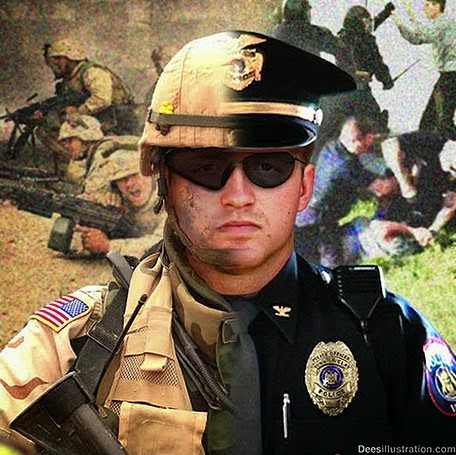 Militarized Police Occupy Myrtle Beach Bike Week