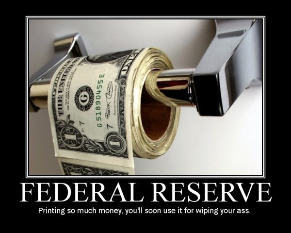 federal reserve printing money