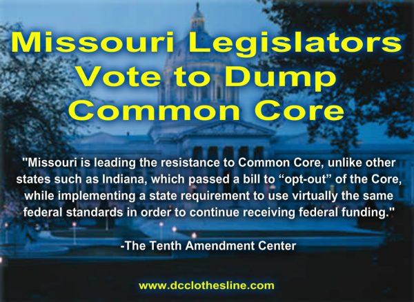 missouri votes to dump common core