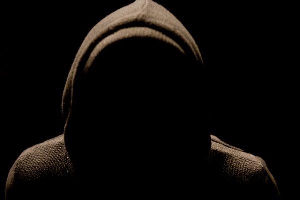 mystery man in hoodie
