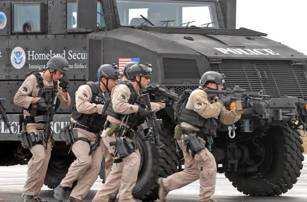 dhs domestic army