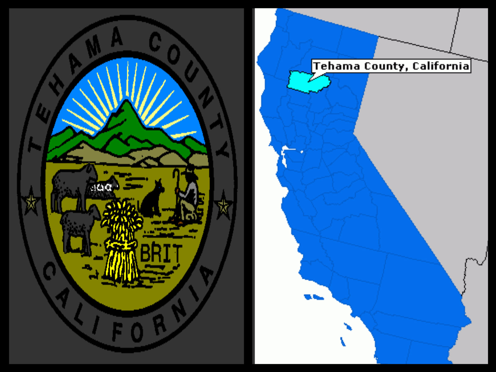 Tehama County California