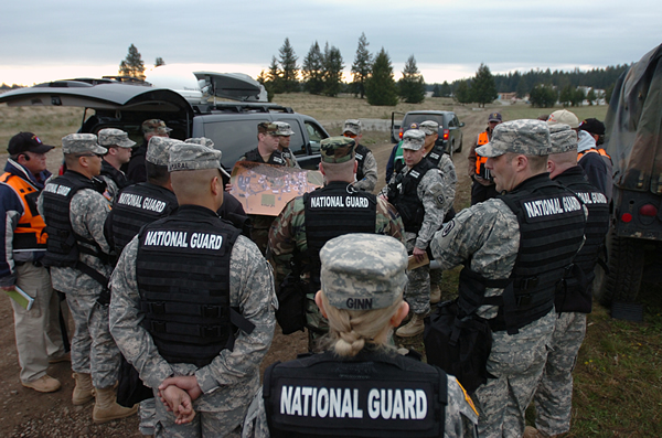 "The DHS ""Weapons of Mass Destruction - Civil Support Team"" is shown here conducting exercises in Washington in 2008. Photo Credit: Washingtonguard.org"