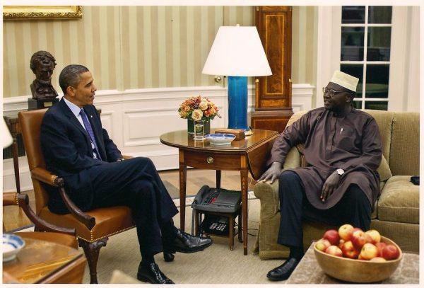Malik and Barack Obama