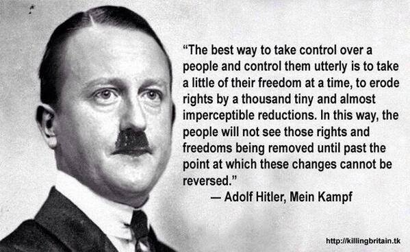 hitler control quote