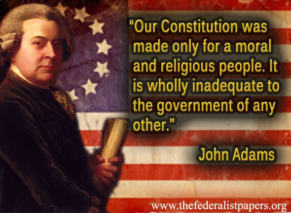 john adams moral religious people