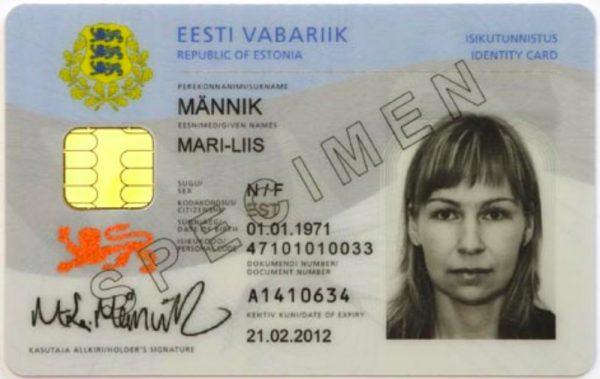national id card estonia