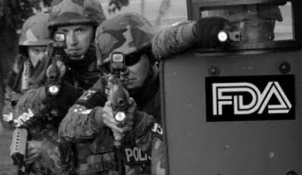 fda militarized enforcers