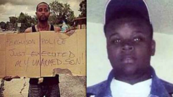 michael brown executed