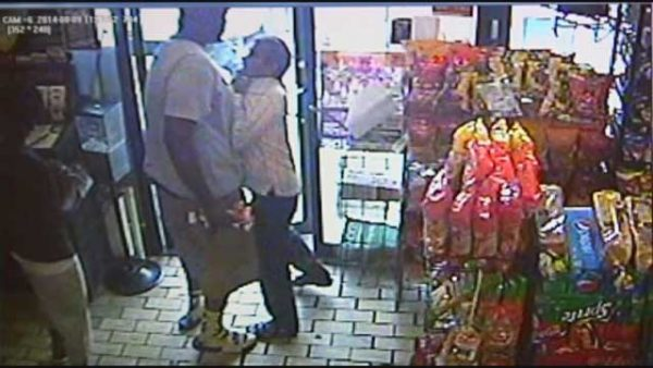 michael brown suspected of stealing cigars