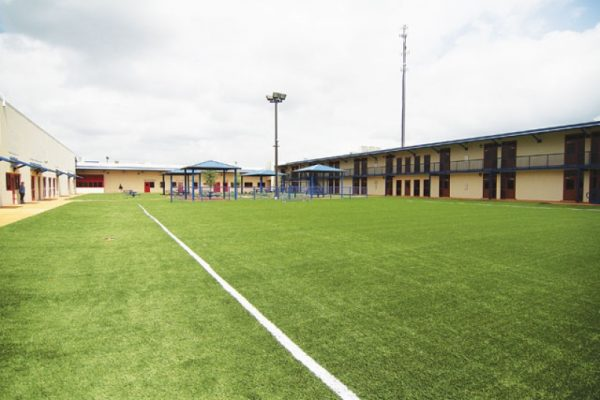 soccer field at Karnes City