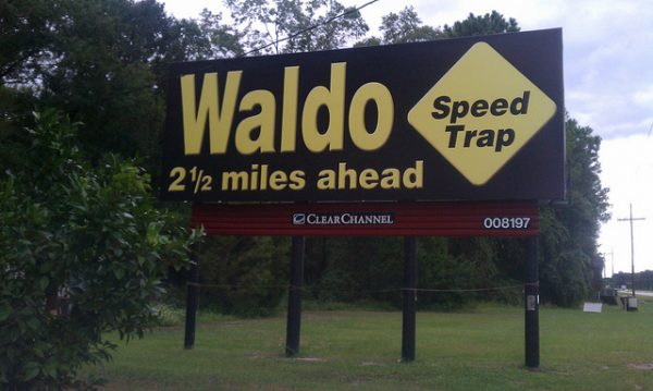 waldo speed trap