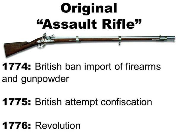 british ban original assault rifle