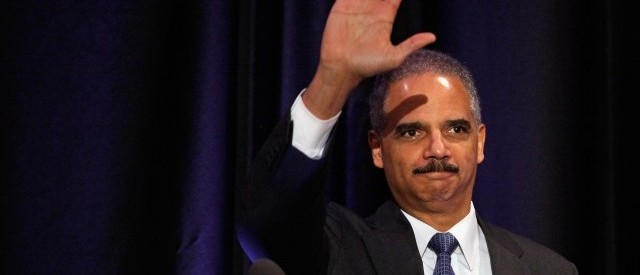 Report: Eric Holder to Resign Today