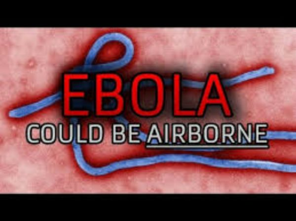 ebola could be airborne