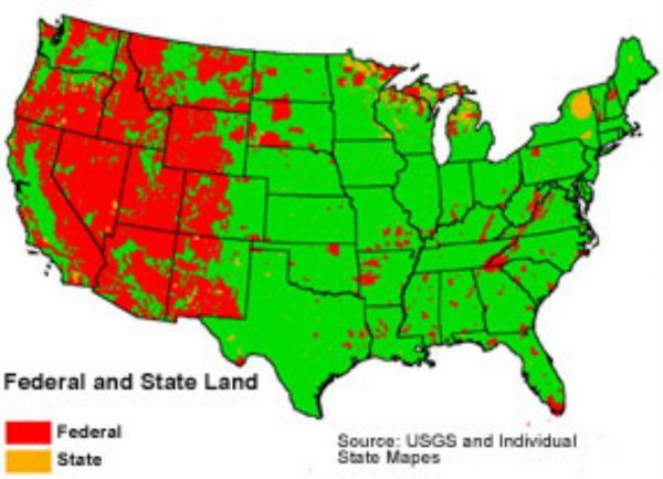 federal land ownership