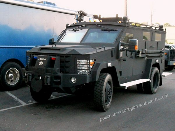 gresham swat vehicle