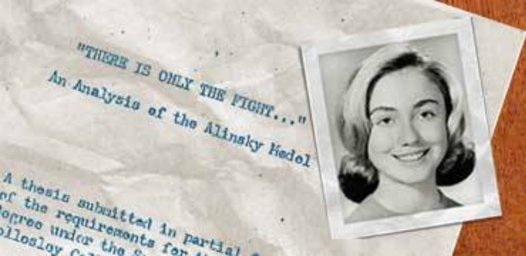 hillary clinton and college writings and thesis Chelsea clinton's missing college thesis obama didn't need to go back to clinton's pre-school writings to establish clinton's hillary clinton-ba in.