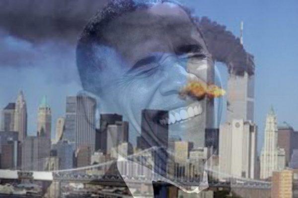 obama laughs at 911