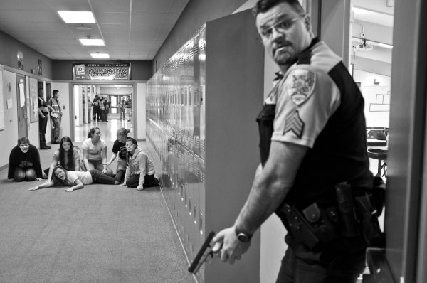 Image of a 2013 Active Shooter Drill in Washington. Source: Damian Mulinix