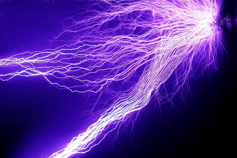 Strange Beam of Static Electricity Felt Outside of Google Office