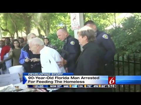90 year old charged for feeding homeless in ft lauderdale