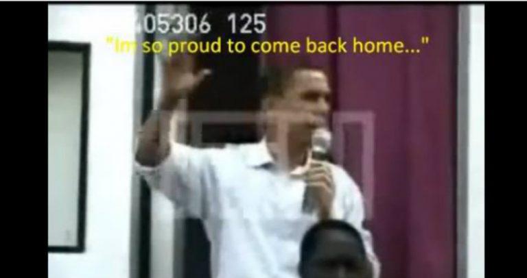 Flashback: In 2006, Obama called Kenya his home