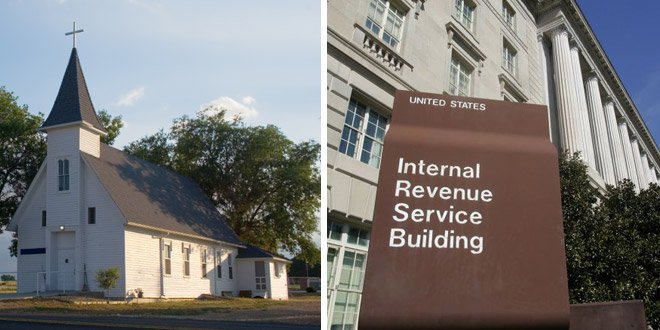 Watchdog Group Sues IRS Over Monitoring US Churches