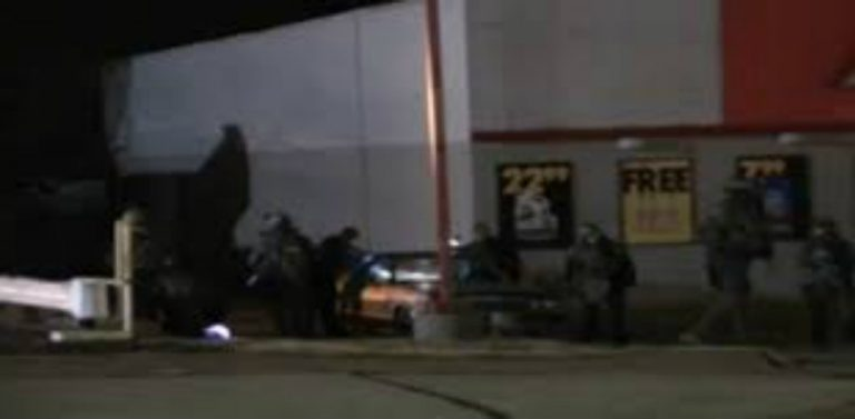 Busted: Paramilitary Police Caught on Film Starting Fire in Ferguson