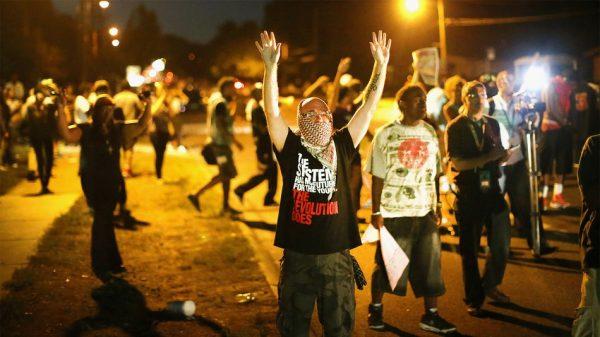 Ferguson communist agitators