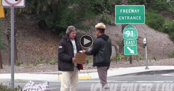 Homeless Guy Given $100 — You'll Be Surprised How He Spent It How-Does-A-Homeless-Man-Spend-100-600x315