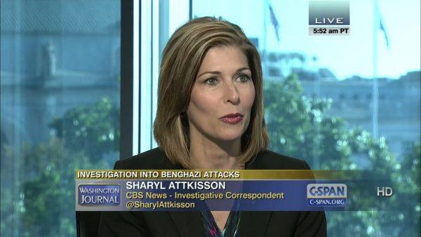 Sharyl Attkisson--White House Hiding Photos of Obama on Night of Benghazi Attack
