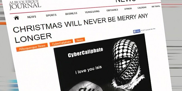 "Albuquerque Residents Get a Christmas Greeting From ISIS: ""We are already here"""