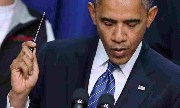 obama veto pen