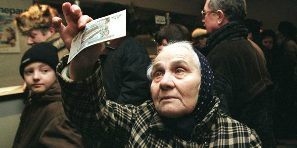 ruble collapse