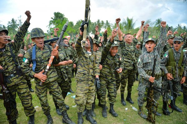 Moro Islamic Liberation Front (MILF) reb