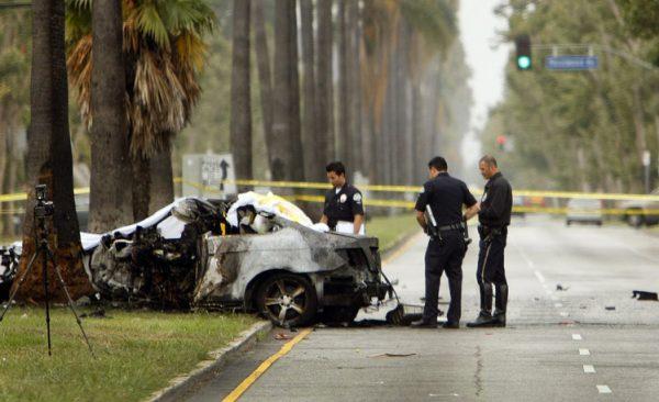 Michael Hastings crash scene. courtesy of Above Top Secret.