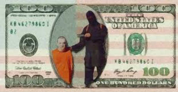 isis receives funds from USA