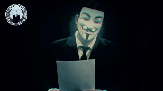 Anonymous threatens Israel with 'electronic Holocaust'