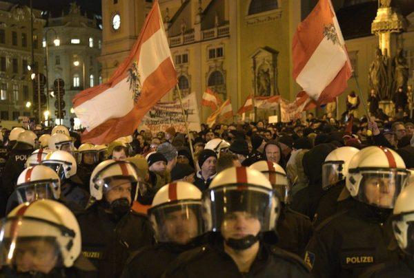 Austria-Anti-Islam-Rally
