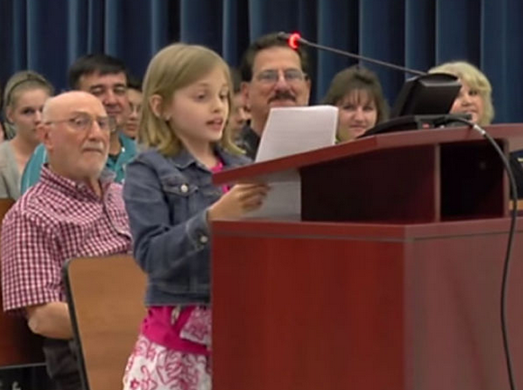 Eloquent 4th Grader Brings Crowd To Its Feet After She Rebukes Govt School Testing