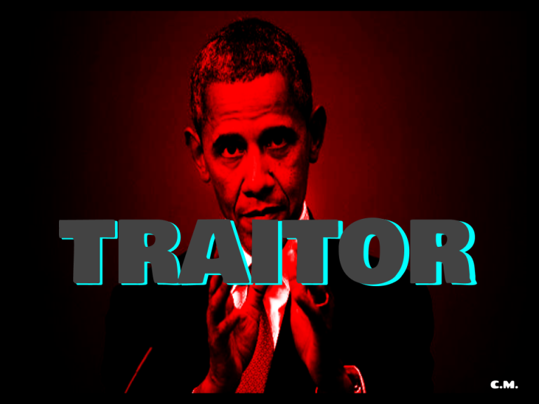 If The Rule Of Law Were Applied, America's 1st Black President Would Die For His Treason