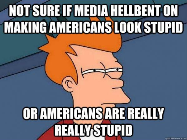 americans stupid