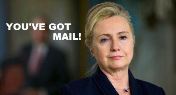 hillary you've got mail