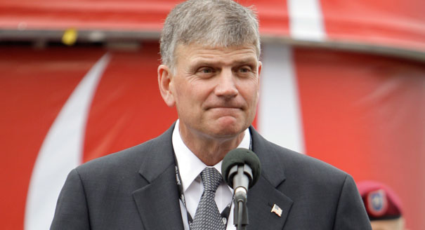 "Franklin Graham's Message To Muslims: ""Leave America and go to a Muslim Country"""