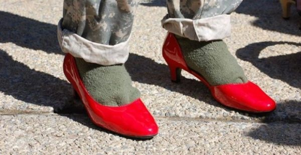 U.S. ARMY FORCES CADETS TO WEAR HIGH HEELS TO PROMOTE FEMINIST CAMPAIGN