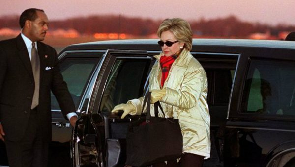hillary and chauffeur