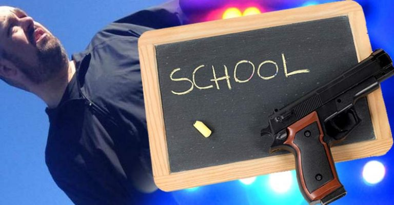 Instead of Waiting on the Cops, a Teacher Successfully Stops Active Shooter at School