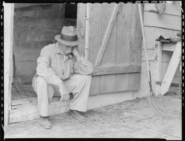 Farmer_in_despair_over_the_depression_in_1932._-_NARA_-_512819