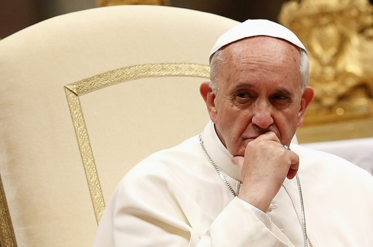 Pope Engages in Blasphemy